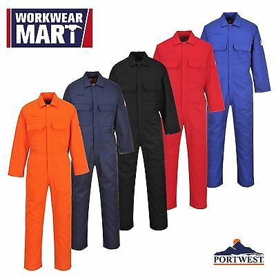 Portwest Flame Resistant Work Welding Coverall Boliersuit, ASTM NFPA UBIZ1