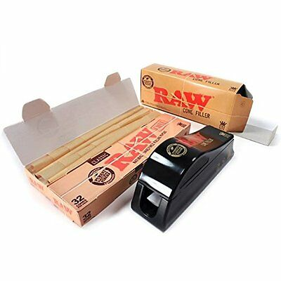 Raw Cone Fillers for King Size and 1-1/4 Size Pre rolled Cones(New) by eTrendz