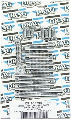 Drag Specialties Socket-Head Bolt Set, Smooth MK266S DS-190879S