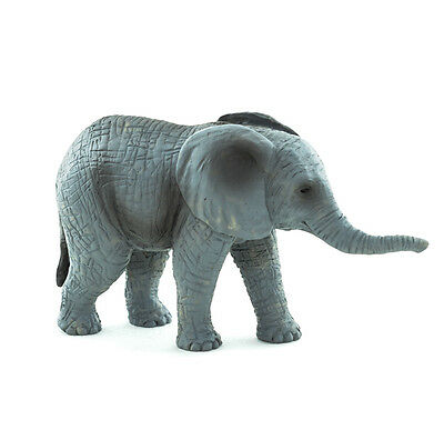 Mojo Fun 387190 African Elephant Calf - Realistic Wildlife Toy Model 2015 - NIP