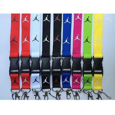 Jordan Lanyard Key/chain ID Badge cell i/phone holder Neck Strap NBA Air