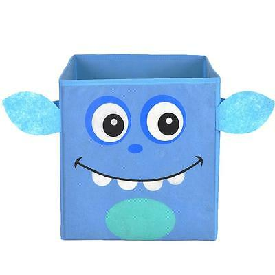 NEW Nuby Nursery Storage Box - iMonster Blue - Great for Toys, Nappies, Books