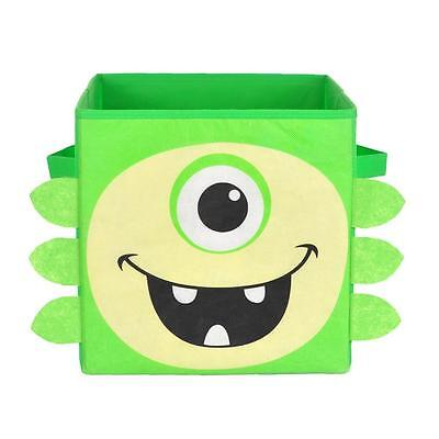 NEW Nuby Nursery Storage Box - iMonster Green - Great for Toys, Nappies, Books