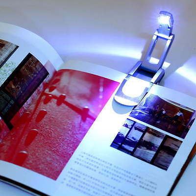 Bright clip on LED Book Light reading Booklight lamp bulb For Kindle DE