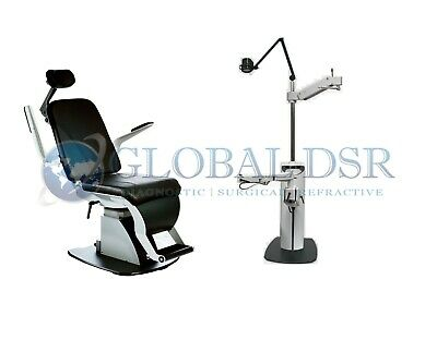 S4OPTIK NEW 1800 Examination Chair w/ 1600 Instrument Stand Package