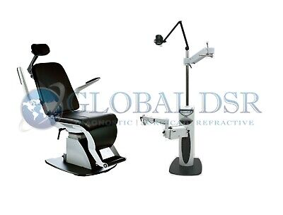 S4OPTIK NEW 1800 Examination Chair w/ 2000 Instrument Stand Package
