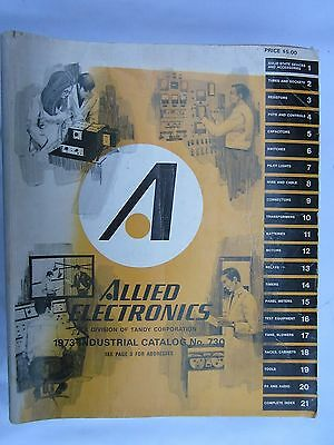 Allied Electronics 1973 Industrial Catalog, 1974 Engineer Manual/Purchase Guide.