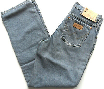 WRANGLER Boys Regular Fit Denim Texas Jeans Stone Wash Blue Size: W 26 30