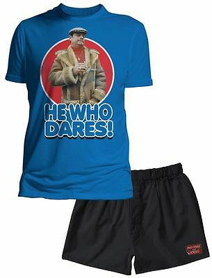 Only Fools and Horses Official He Who Dares Pyjama Set NEW