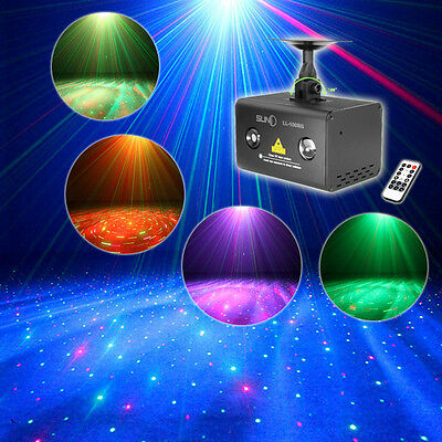 SUNY Remote Meteor Water Galaxy Wavy Effects Laser Light Stage Party DJ RGB LED