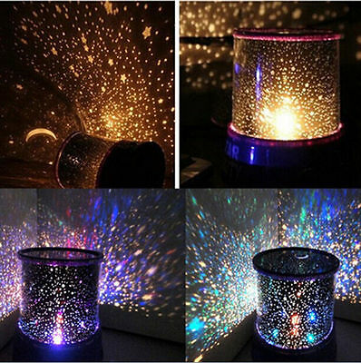 NEW LED Cosmos Star Master Sky Starry Night Projector Light Lamp Kids Great Gift