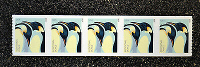 2015USA #4990 Additional Ounce Rate - Penguins  Mint NH    Coil Strip of 5