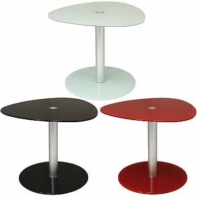 Glass Side/end/lamp Coffee Table Lounge Low Occasional Living Room Furniture