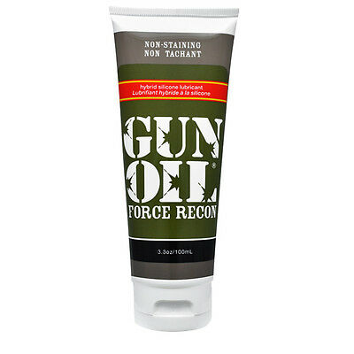 Gun oil force recon male lubricant non staining silcone based lube 100ml