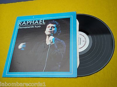 LP RAPHAEL eternamente tuyo US press Jose Luis Perales (VG++/EX) Ç