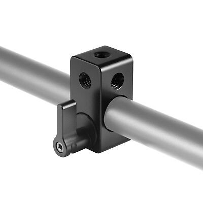 "SmallRig 1/4"" Thread Single Rod Clamp Rail Block For 15mm Rail Support System"