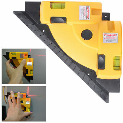 Vertical Horizontal Laser Line Projection Square Level Right Angle 90 degree BI