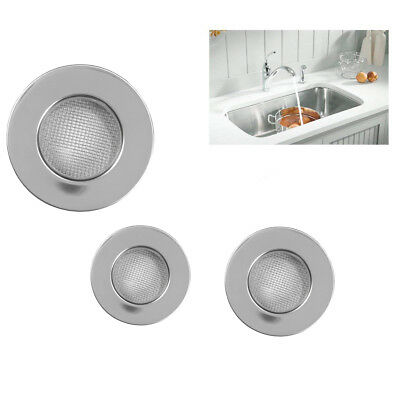 Mini Sink Drain Strainer Plug Hole Strain Food Stopper Waste Catcher Stainless