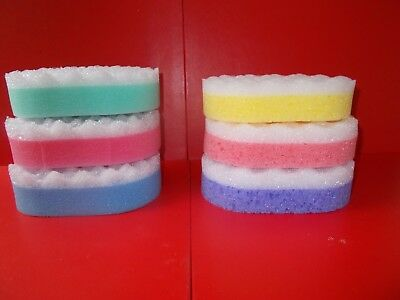 One Bath / Shower / Massage Sponge - Choice Of Colour