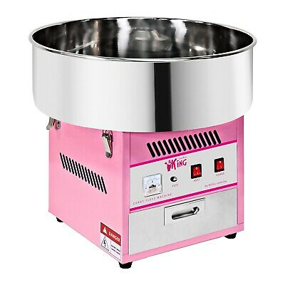 Candy Floss Making Machine Cotton Candy Maker 1 Portion/min 1200W Pink 230 V New