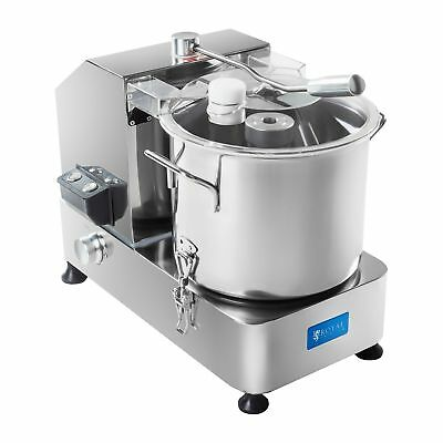 Kitchen Cutter 9 Litres Stainless Steel 950 W Rotation Speed 1000 - 2800 Rpm New
