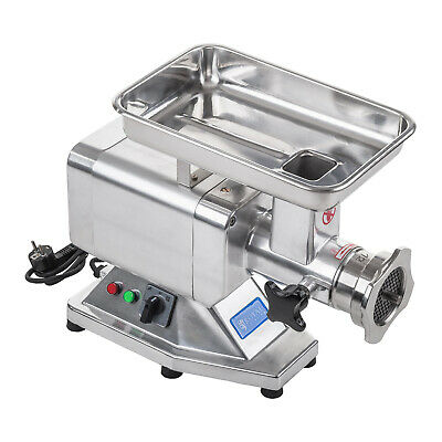 COMMERCIAL MEAT MINCER HEAVY DUTY GRINDER KITCHEN CATERING 850 W 120 kg/h NEW