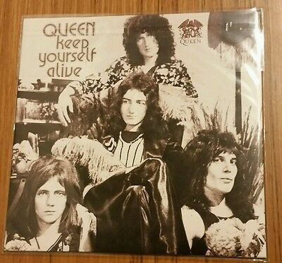 """Queen - Keep Yourself Alive - 7"""" Picture Sleeve - Usa Record Store Day - 2011"""