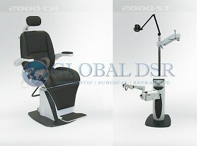 S4OPTIK NEW 2000 Examination Chair w/ 2000 Instrument Stand Package