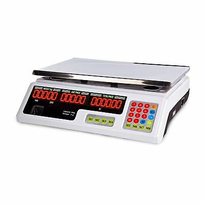 PRICE SCALES 40kg / 2g - DIGITAL INDUSTRIAL COMPUTING ELECTRONIC WEIGHING SCALE