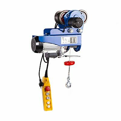 HOIST TROLLEY - 659lb ELECTRIC HOISTING PROFESSIONAL INDUSTRIAL WINCH 600 W NEW