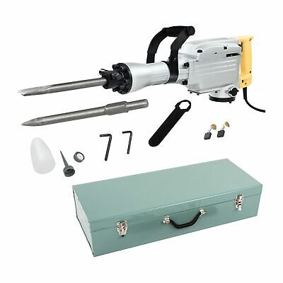 Demolition Hammer - 230V Professional Electric Concrete Jackhammer Drill Breaker