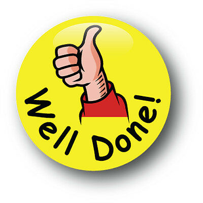 Well Done! School Pin Badge - Pack of 10