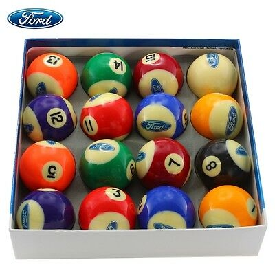FORD Official Licensed Pool / Snooker Ball Set - 16 pcs