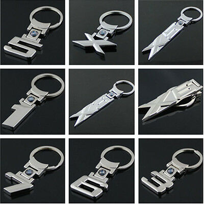 Car Keyring for BMW LOGO 1 3 5 6 7 X Series Style Part Collect Key Ring Metal