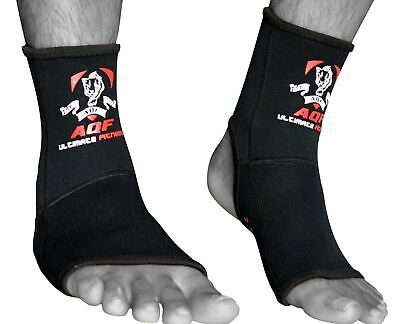 New Muay Thai Boxing Foot Ankle Support Pullover Elasticated Brace Guard Karate