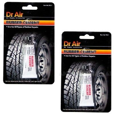 Tyre Inner Rubber Tube Tyre Cement For Adhering Patches to Punctures Dr Air TG31