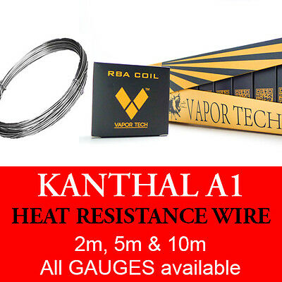 Kanthal Wire A1 Resistance 20 TO 32 AWG (GAUGE)  2, 5 And 10 Metres