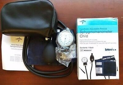 Medline Handheld Aneroid Sphygmomanometer - Child #MDS9387 with Soft Case NEW
