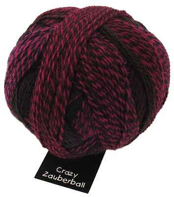 "Crazy Zauberball 100g  Schoppel Farbe 2082 ""Charisma"" Wolle Sockenwolle"