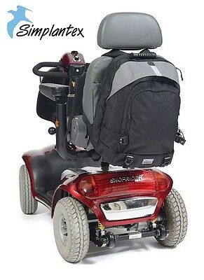 Simplantex Large Mobility Rucksack Scooter Bag Quality Disabled Aid Backpack