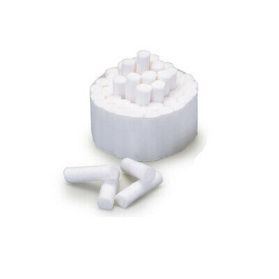 2000 pcs High Quality dental cotton rolls #2 Medium size 1-1/2 x 3/8 inch