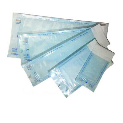 "1000 pcs high quality Self-Sealing Sterilization Bag/Pouch 3.5""X10"""