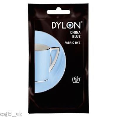 Dylon Fabric and Clothes Hand Dye 50g - China Blue