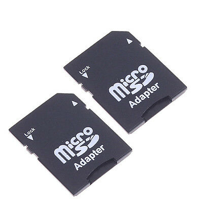 2X Micro SD TransFlash TF to SD SDHC Memory Card Adapter SD Card Converter COOL