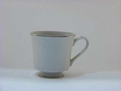White Crown Victoria Fine China Lovelace tea Cup Made In Japan