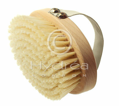 Hydrea Professional Beechwood Body Brush with Natural Bristles Medium Strength