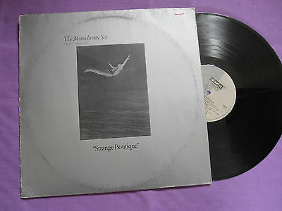 The Monochrome Set - Strange Boutique LP 1980 Dindisc grey labels post punk