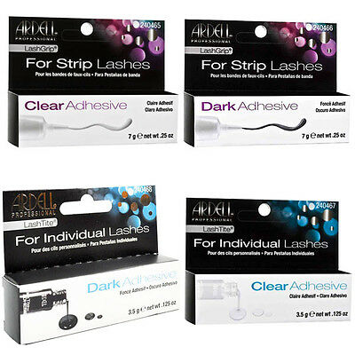 Ardell LashGrip LashTitle Clear Dark Waterproof Eyelash Strip Adhesive Glue