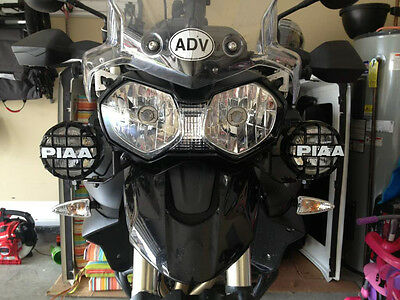 PIAA 510 Driving Lights for Triumph Tiger Motorcycle 800 900 955i 1050 Explorer