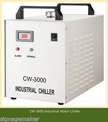 AC220V Industrial Water Chiller CW-3000AG for 60W / 80W CO2 Laser Engraver